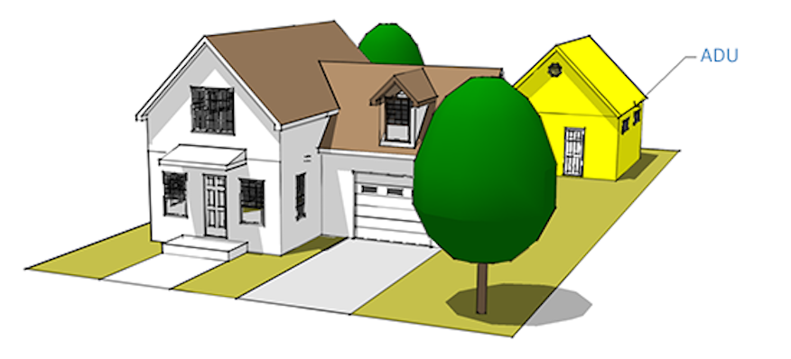 Accessory dwelling units options rm for How to build an adu