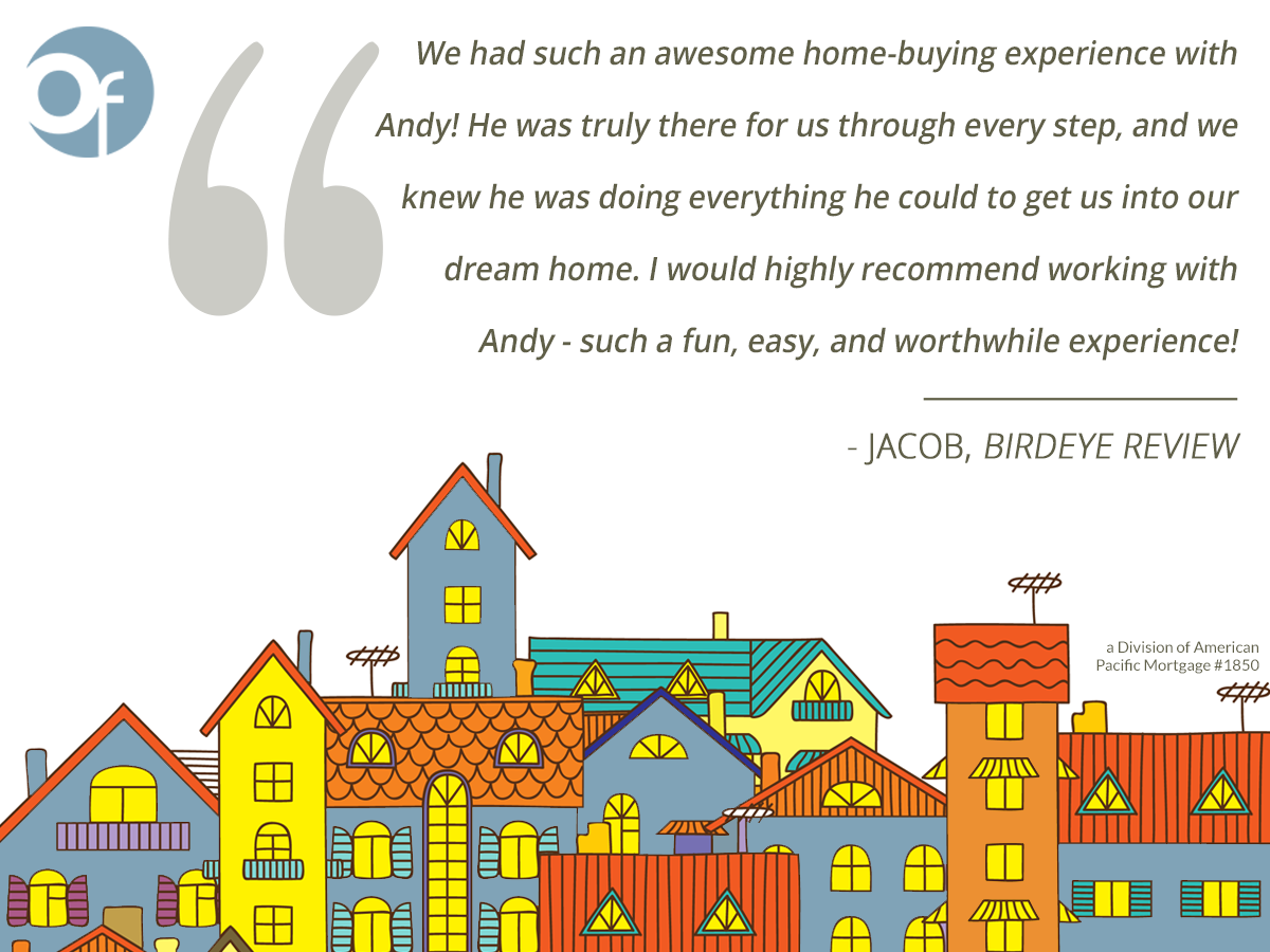 We had such an awesome home-buying experience with Andy! He was truly there for us through every step, and we knew he was doing everything he could to get us into our dream home. I would highly recommend working with Andy- such a fun, easy, and worthwhile experience!